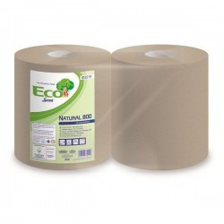 Utierky papierové Eco Lucart Natural 800