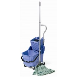 HB 1812 Service trolley with bucket + mop